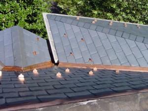 dabīgais šīferis, slāneklis, akmens jumts, cupa