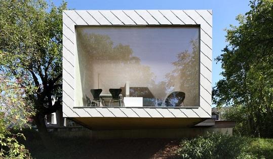 Dacora Eternit, skiedrcementa jumts, fasade, moderna arhitektura